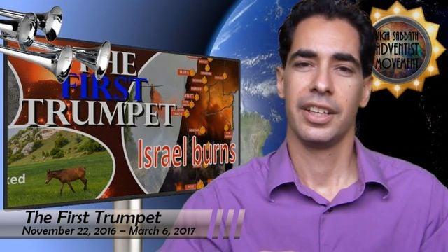 1st Trumpet: Israel Ablaze!