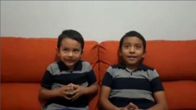 Los pequeños también predican el mensaje del cuarto ángel