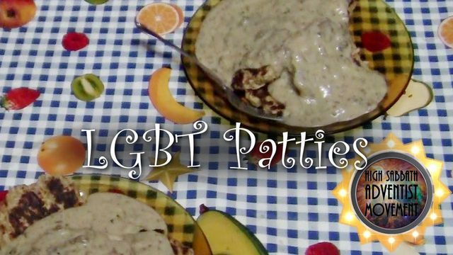Cooking demo: LGBT Patties