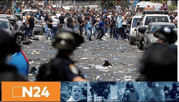 Tempelberg-Krise eskaliert: Tote und Verletzte - Palästinenser brechen Kontakte zu Israel ab