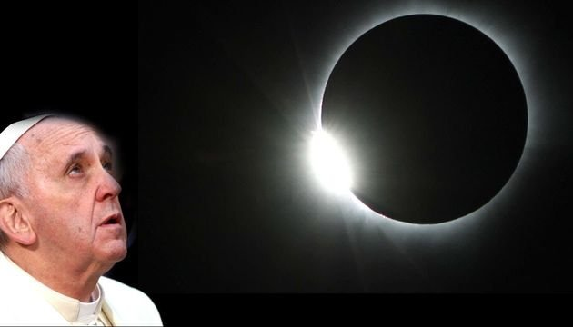 With eclipse near, Pope Francis warns against astrology and fortune telling
