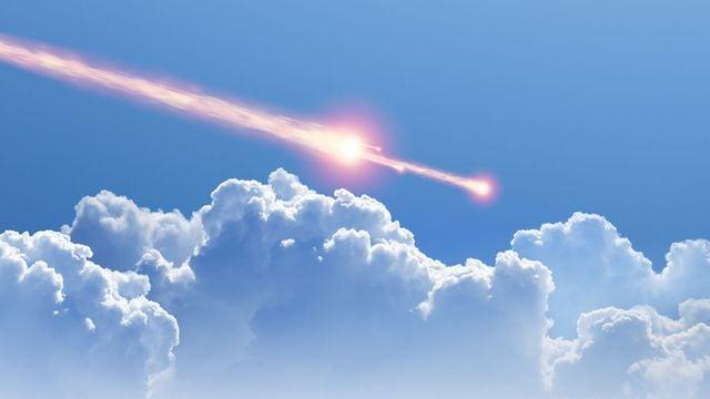 Ein Meteorit stürzt auf Kuba
