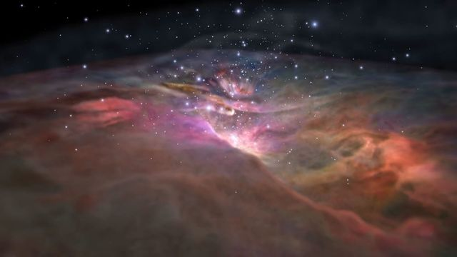 Travel to the Orion Nebula