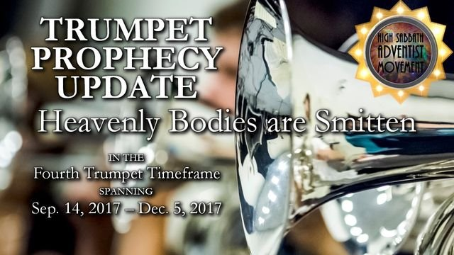 4th Trumpet: Heavenly Bodies are Smitten
